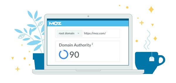 moz DomainAuthority 낙장 도메인 점수